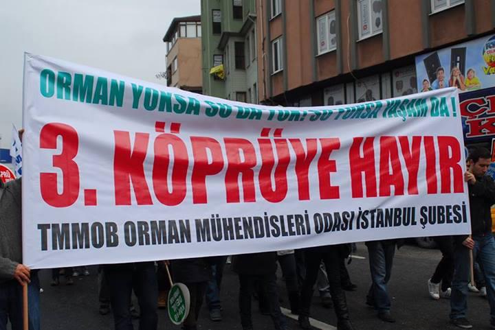 Orman Mühendisleri İstanbul Şubesi Genel Kurulu 18 Ocak'ta toplanıyor.