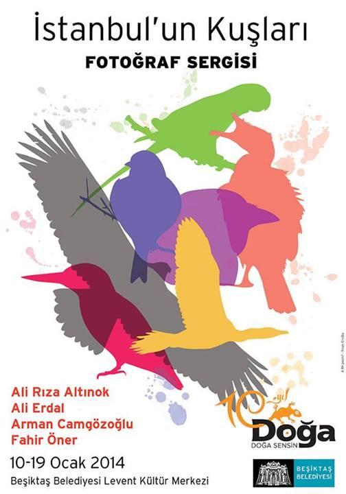 İstanbul'un Kuşları Fotoğraf Sergisi