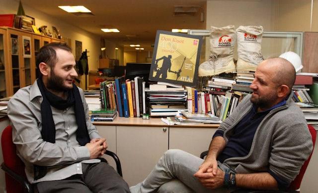 Atlas Dergisi Genel Yayın Yönetmeni Özcan Yüksek'le Arkitera'dan Serkan Ayazoğlu'nun yaptığı söyleşi (6 Ocak 2014)