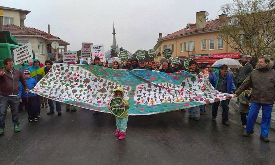"""Demirciköy Halkı; """"Köprünüzün atıklarını değil ağaçlarımızı istiyoruz!"""""""
