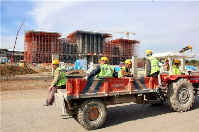 Atatürk Orman Çiftliği'nde mahkeme kararına rağmen inşaata devam!