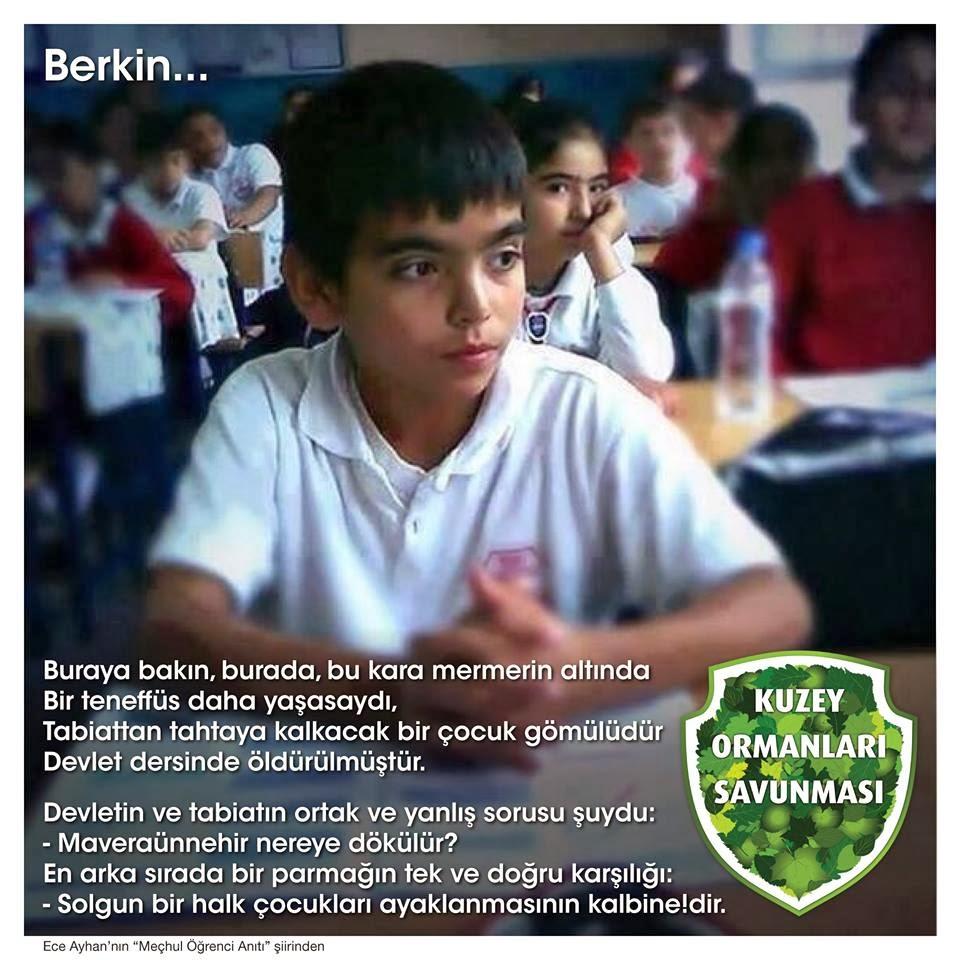 Berkin Elvan.. mücadelemizde yaşayacak..