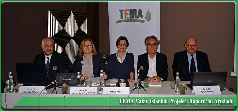 TEMA Vakfı Raporu: İstanbul'u yaşatan doğal kaynaklar yok edilmektedir.