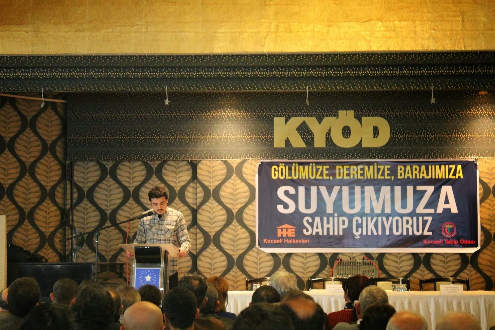 Kocaeli ve Sakarya halkı Su Forumu'nda buluştu (24 Şubat 2014)