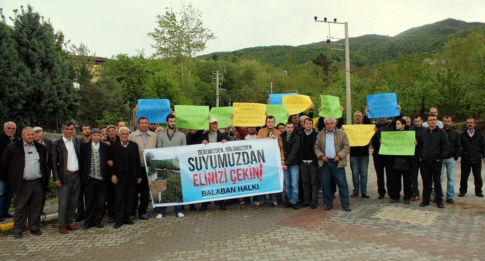 Balaban'da Su Direnişi