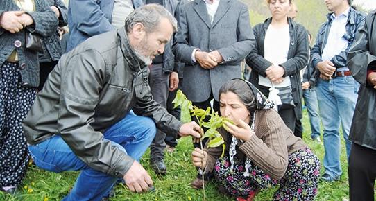 Berkin Elvan Dersim'de bin fidan
