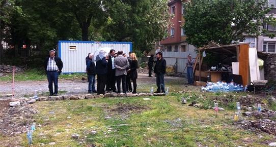 İmrahor Bostanı'na önce cami tuvaleti sonra Mevlevihane!