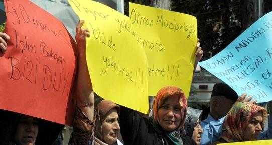 Pıynar eylemi Antalya'ya ulaştı