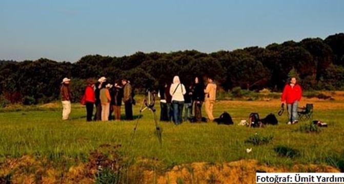 Kuş gözlemcileri, Kuzey Ormanları'nda Şafak Korosu'nu dinlediler