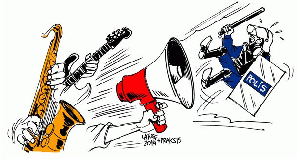 Latuff'tan Praksis'e ithafen: İsyanın Sesi