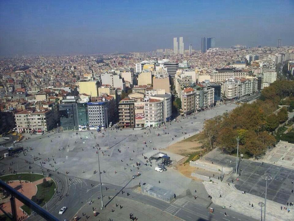 Danıştay Taksim yayalaştırma projesini iptal etti