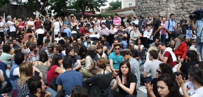 BELTUR'un çay bahçesine karşı piknikli protesto