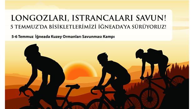 KOS: Longozlar ve Istrancalar İçin Bisikletlerimizi İğneada'ya Sürüyoruz!
