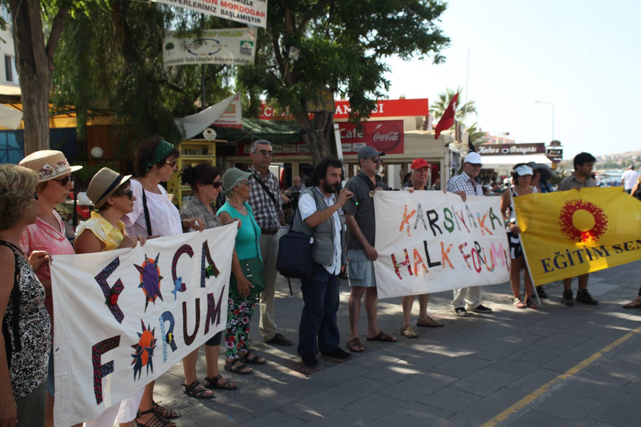 Foça ve Aliağa bölgesinde Ortak Mücadele ve Dayanışma Gezisi