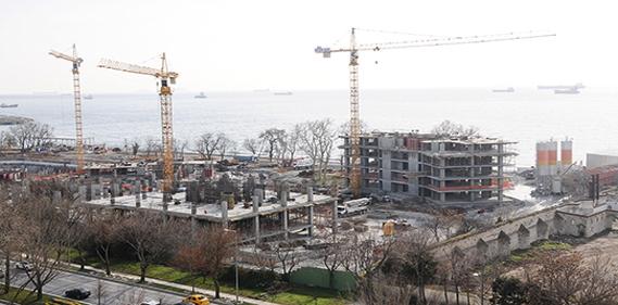 Ataköy inşaatları mühürlendi