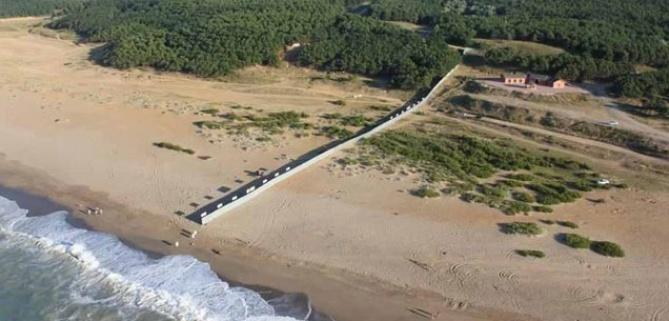Katliamcılar sahile vurdu