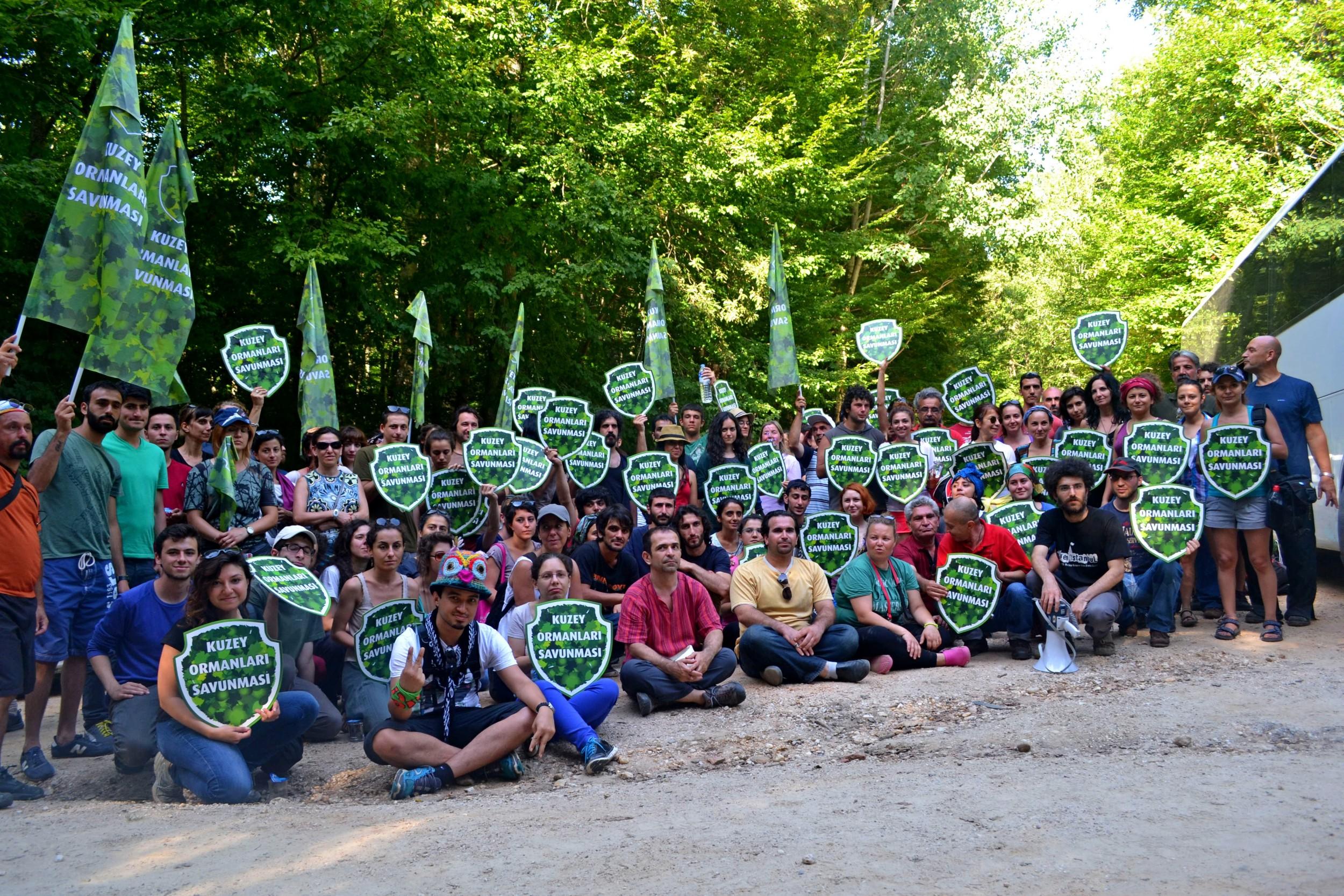 İMC Yeşil Bülten : Kuzey Ormanlarını Savunmaya İğneada'ya
