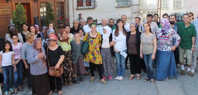 Çengelköy Kuleli Sakinleri Evlerine Sahip Çıkıyor!