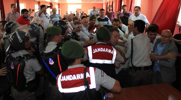 Samsun'da ÇED toplantısı köylüler tarafından iptal edildi