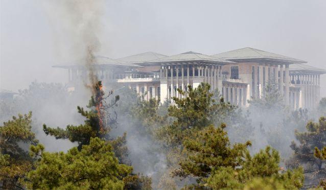 Atatürk Orman Çİftliği yanıyor!
