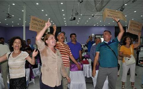 Mersin'de nükleere geçit yok, Erdemli'de ÇED eylemi