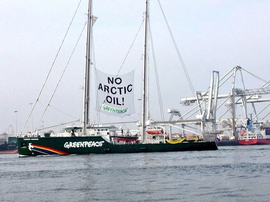 Greenpeace, Üsküdar'da direnişçilerini bekliyor