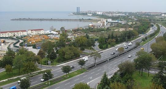 Ataköy sahilinde Sinpaş inşaatı da mühürlendi