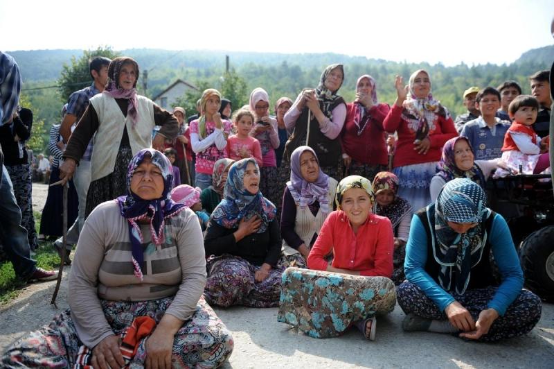 Düzceli Köylüler 'Mermer Ocağına' Direniyor