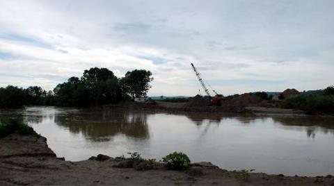 Sakarya Nehri'nde Kum Ocaklarına Yasak