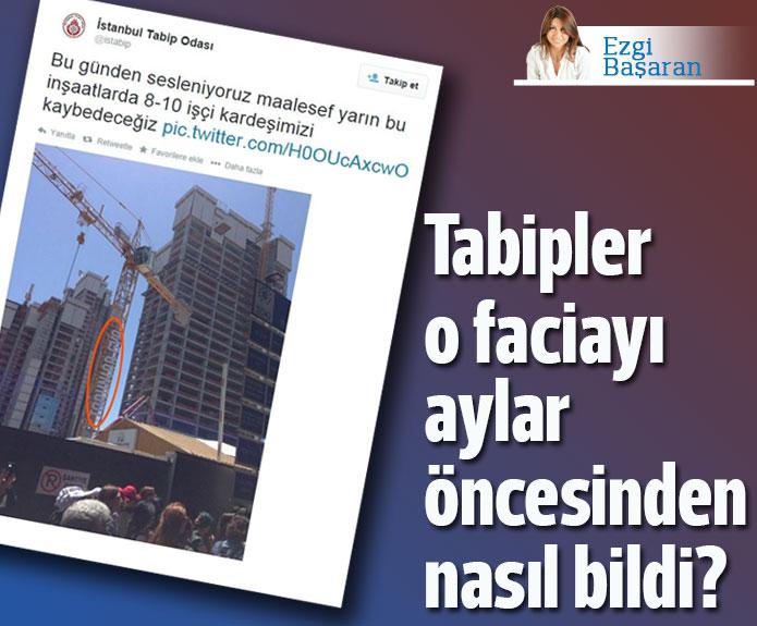 İstanbul Tabip Odası Torunlar'daki faciayı aylar önceden nasıl bildi?