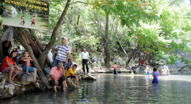 Köylüler dedektif gibi iz sürdü, Ahmetler Kanyonu HES projesi durduruldu