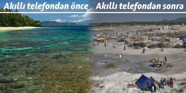 Teknoloji turizm cenneti Bangka adasını 'kalay cehennemi'ne çevirdi