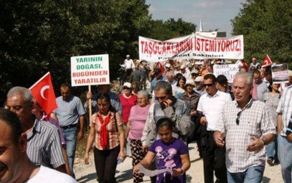 Yalova – Paşakent'te taşocağına hayır! 28 Eylül 13.30 eylem çağrısı