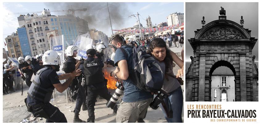Fransa'da savaş muhabirleri buluşmasında #OccupyGezi ve Kuzey Ormanları Savunması