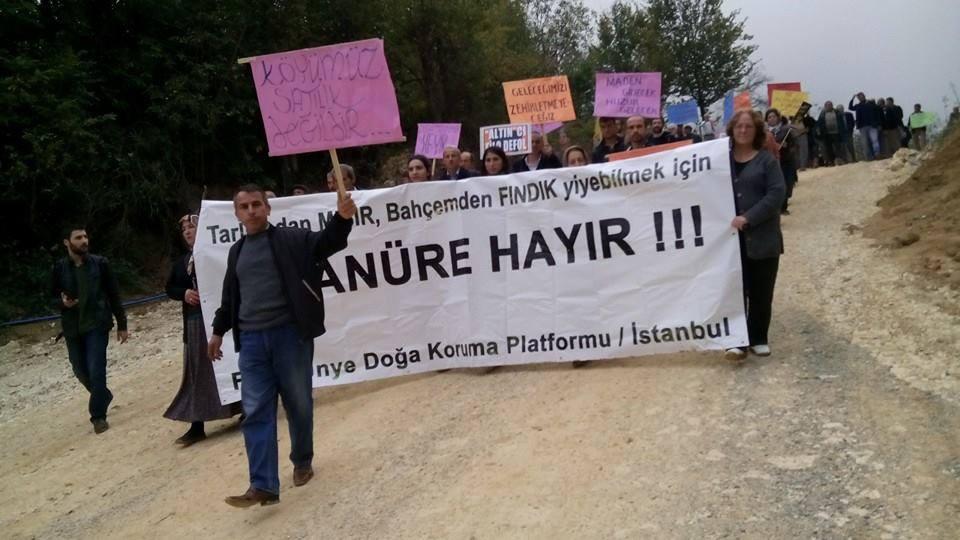 Fatsa ve Ünye Köylüsü Altıncılara karşı direniş çadırı kurdu, nöbet başladı.