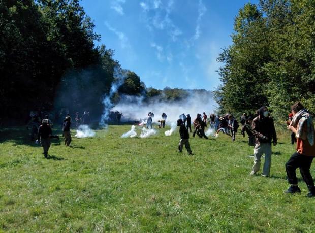 Fransa'da Testet Vadisindeki ZAD Direnişinde Bir Genç Öldürüldü