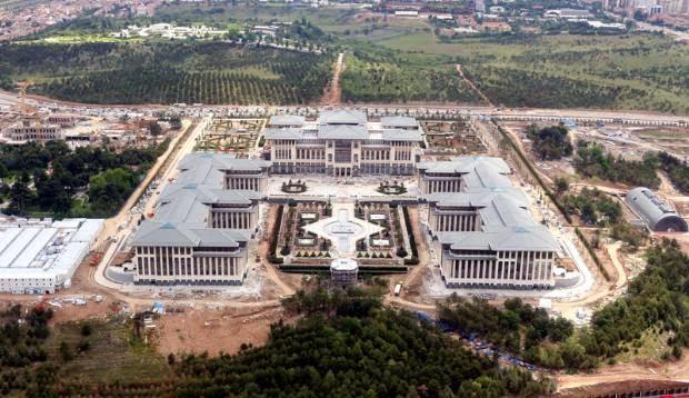 Mimarlar Odası: 'Başbakanlık Sarayı Kaçaktır, İskan Verilemez'