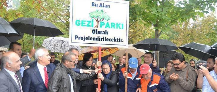 Bursa'da artık Gezi Parkı var