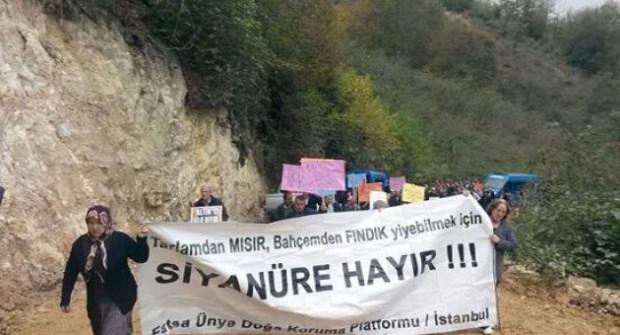 Fatsa'da Köylüler, Siyanürlü Altın Madenine Karşı Yürüdü