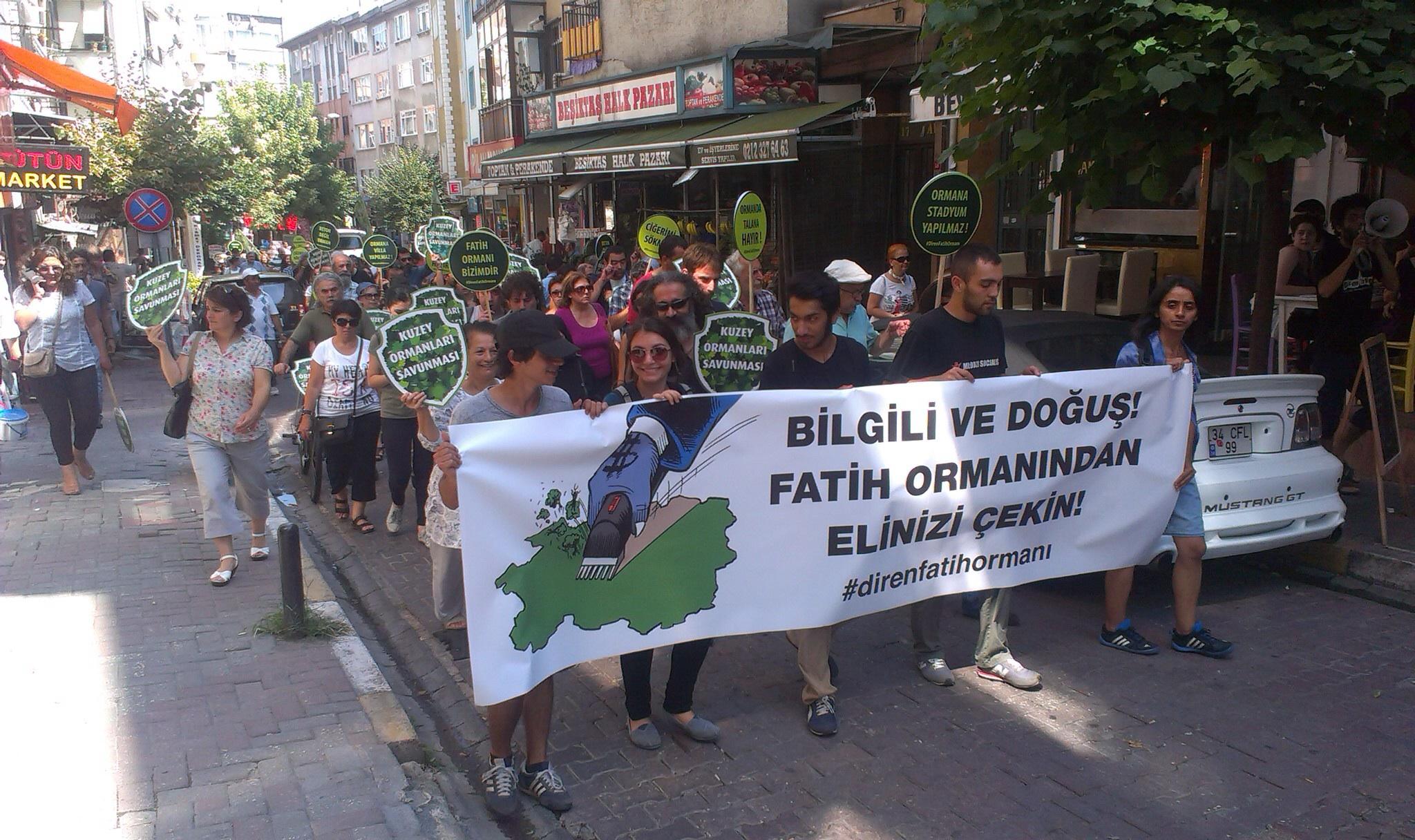 """""""Fatih Ormanı'na imar yok"""" basında geniş yer buldu"""
