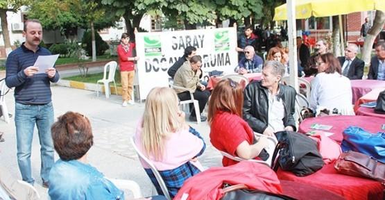 Saray'da RES'lere karşı mücadele başlıyor!