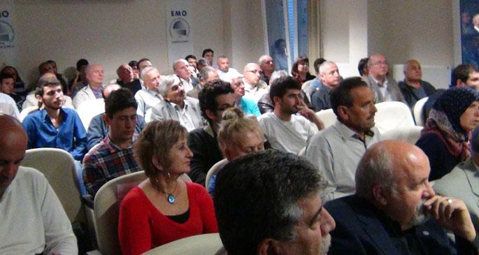 Samsun'da termik santrale karşı mücadele toplantısı