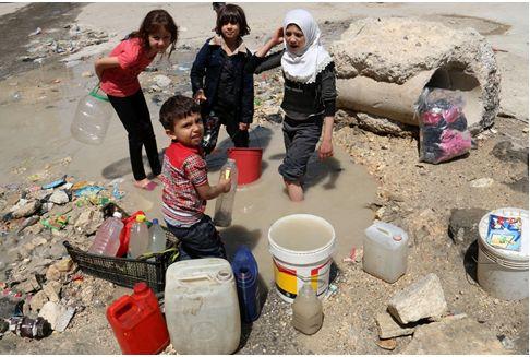 İslam Devletinin peçesi altında su savaşları saklı