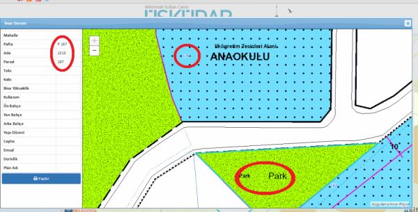 Validebağ'da belediyeden parsel cinliği: Numara değiştirilip yargı baypas ediliyor