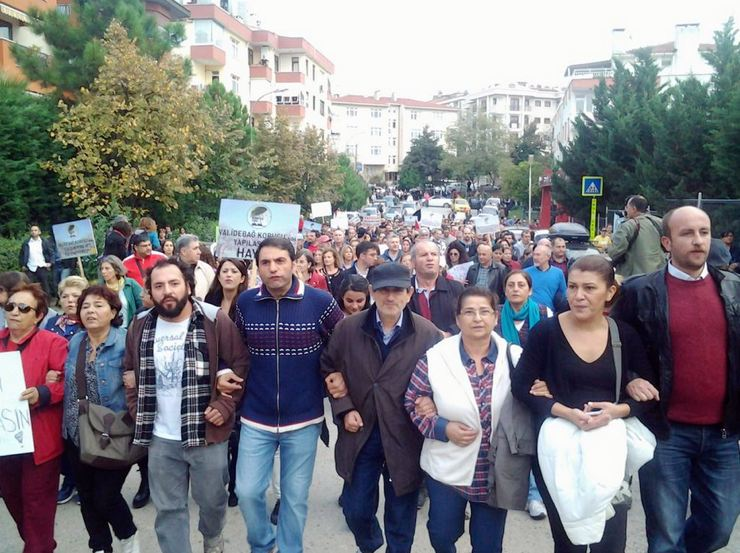 Validebağ nöbetinde 6. gün: Pikniğe Karşı Polis Barikatı!