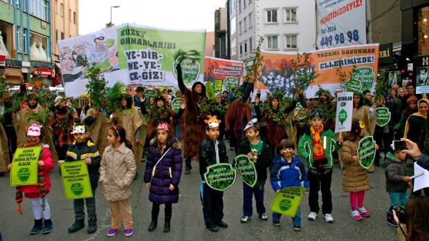 Marmara Doğa ve Kent Mitingini Hep Birlikte Örgütlemeye Çağırıyoruz!