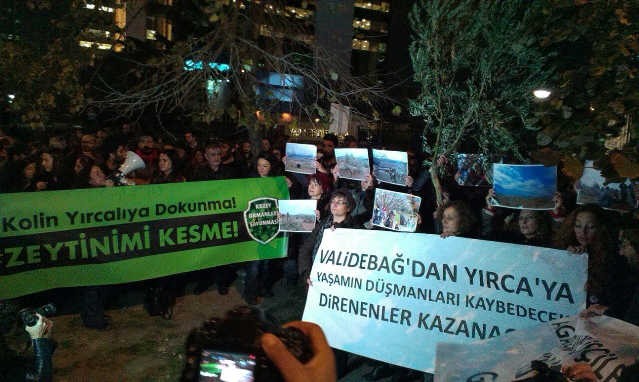 Ağaçların öfkesi sermayeyi yenecek! – Yırca'ya destek eylemimizin ardından