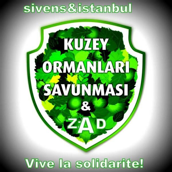 ZAD aktivistinden Kuzey Ormanları Savunması'na mektup var!
