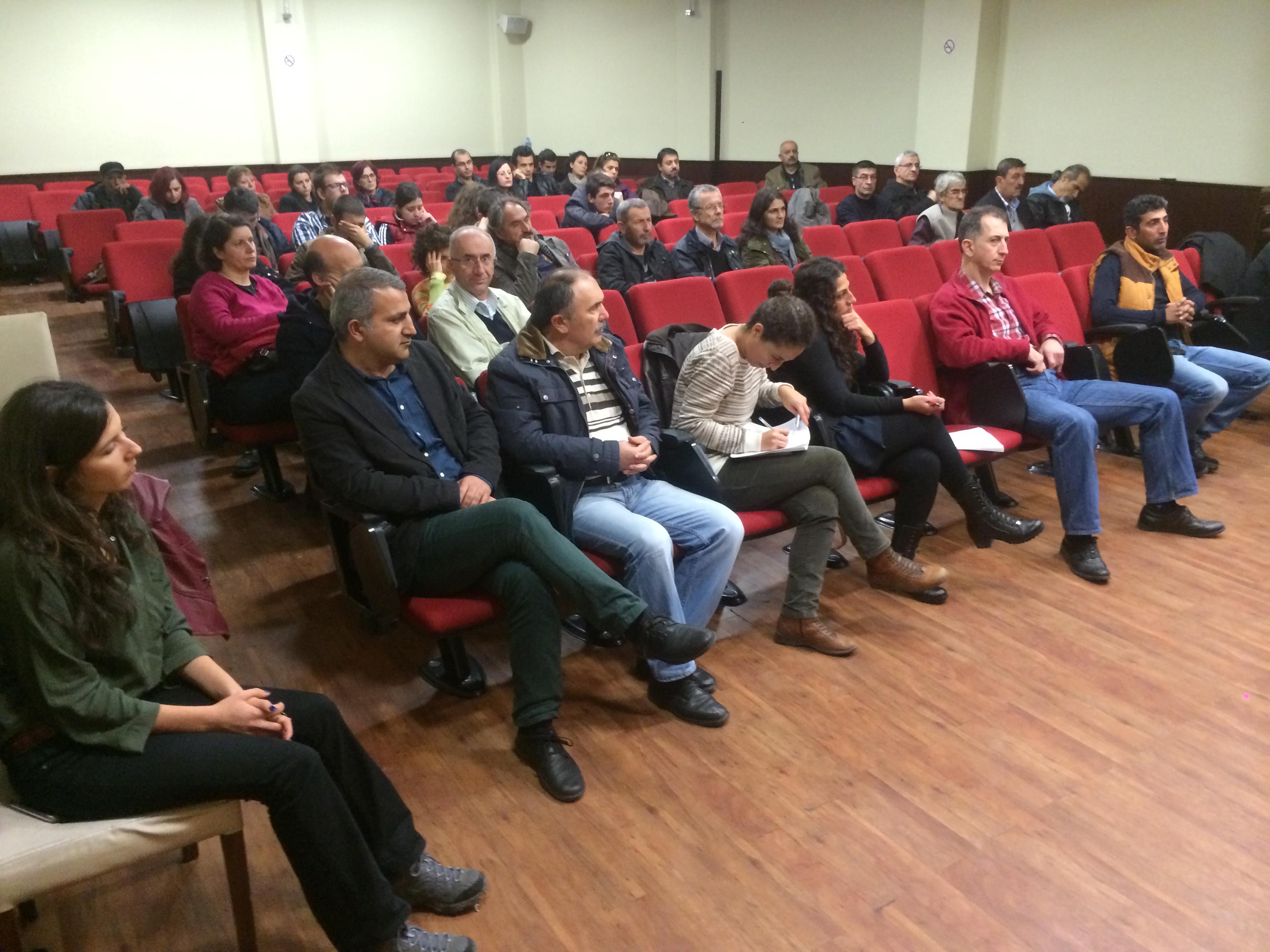 Marmara Çevre Mitingi için Bursa'da ve İzmit'teydik