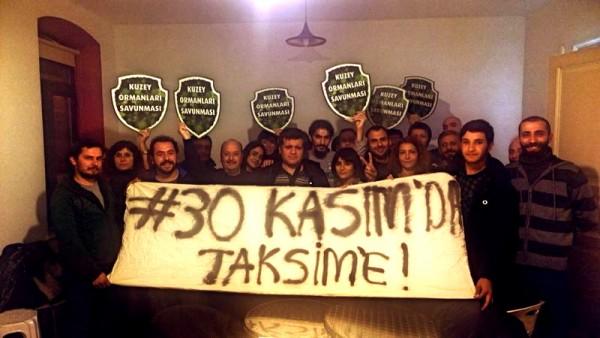 """""""Ya Hepimiz Engelliyiz, Ya Hiçbirimiz! 30 Kasım'da Taksim'deyiz!"""""""